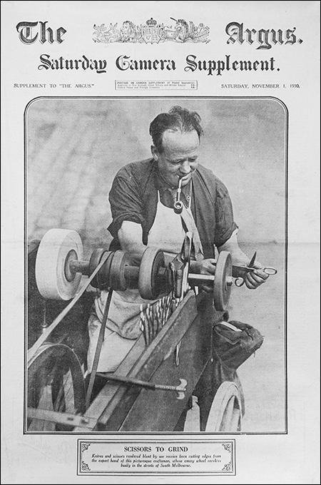 1930 Rémouleur en Australie Journal